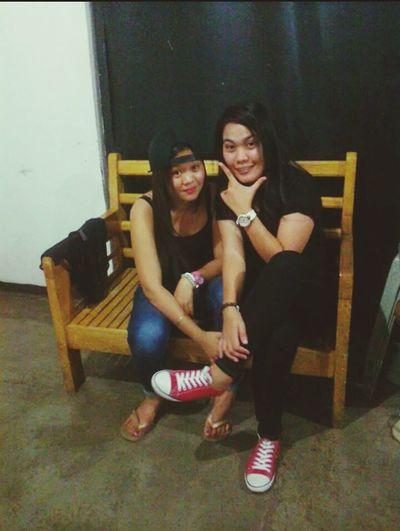 Tomboys be like :p Peacepanget :p Justmissinthisgal Friendship ❤ with Miru