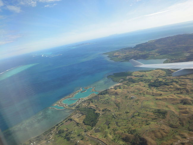 Fiji Photos From An Airplane Window Fiji Island Travel Sky Landscape Landscape_Collection Clouds And Sky