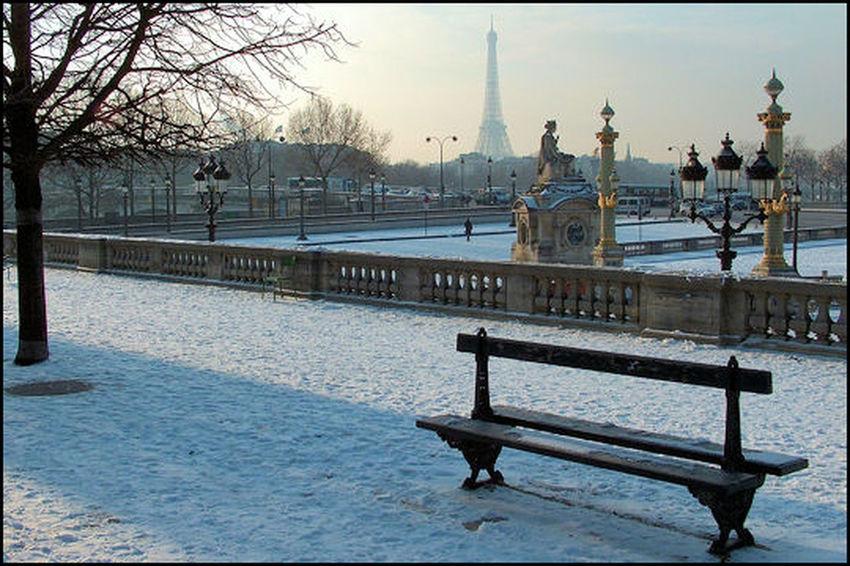 Paris en hiver ⛄️⛄️ et sous la neige ❄️❄️ Paris ❤ Hiver Neige❄