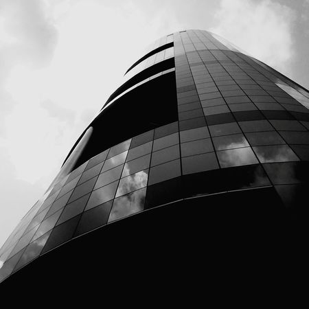 Sky Cloud - Sky Low Angle View Architecture No People Building Exterior Outdoors Industry Day City Cityscape Metal Industry Sommergefühle