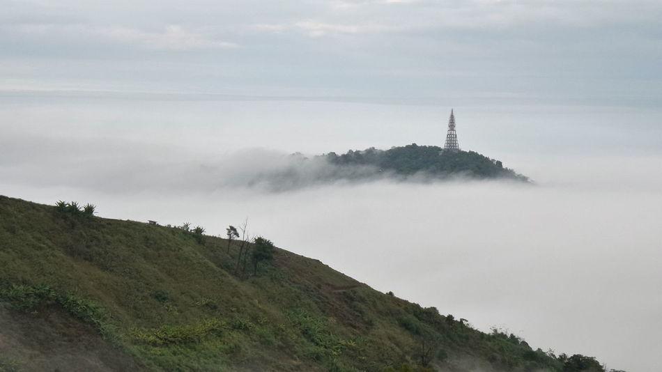ภูทับเบิก Beauty In Nature Day Destination Distance Fog Heaven On Earth HEAVENONEARTH Landscape Mountain Nature No People Outdoors Scenics Sky Tree