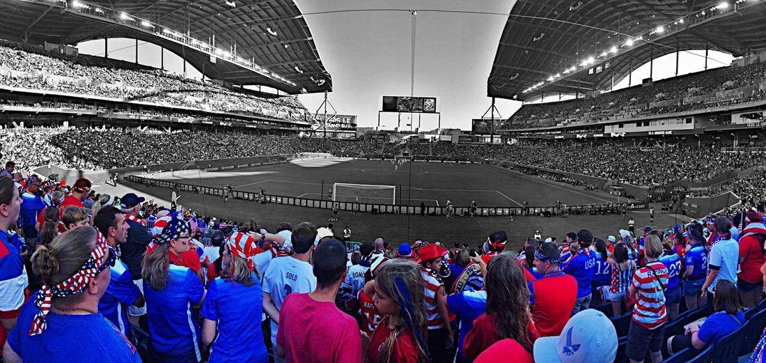 USA Ussoccer USWNT Worldcup FIFAWomensWorldCup2015 WWC15 Winnipeg Canada American Americanoutlaws Soccer Stadium Soccer Stadium Fans