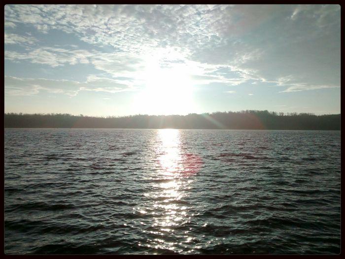Sonnenaufgang Liblarer See