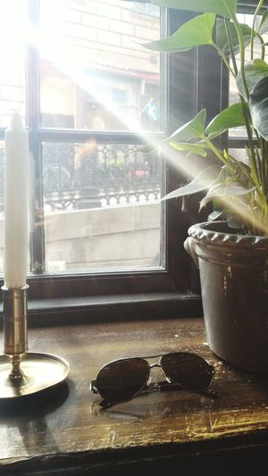 Hej! Stockholm, Sweden Home Sun_collection Sunglasses Sunrays Candle Gamla Stan Holidays Relaxing Moments Green Plant Zenfone Photography Home Interior Homedesign