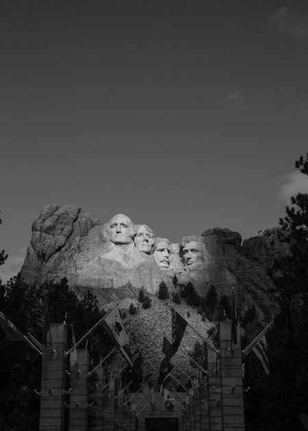 Mt. Rushmore No People Outdoors American West Bnw_captures South Dakota. Southdakota Black And White Collection  Bnw_life Travel Destinations South Dakota Usa South Dakota Mt. Rushmore Mt Rushmore Mt. Rushmore, South Dakota