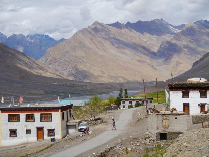 Beauty In Nature Budhist Centre Day Himalayan Range Himalayan Road Lahaul And Spiti Landscape Nature No People Non-urban Scene Outdoors Remote Scenics Sky Spiti Valley Tranquil Scene Tranquility Travel Destinations