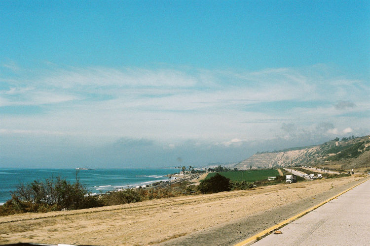 Analogue Photography Cali California Film Ishootfilm Trip View Analog Cloud - Sky Film Photography Filmisnotdead Horizon Over Water Landscape Ocean Road Route 1 Sky Travel Destinations Water