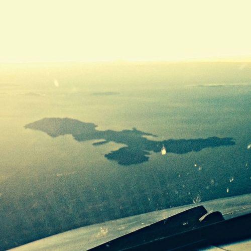 From An Airplane Window 38000 Feet Airplane