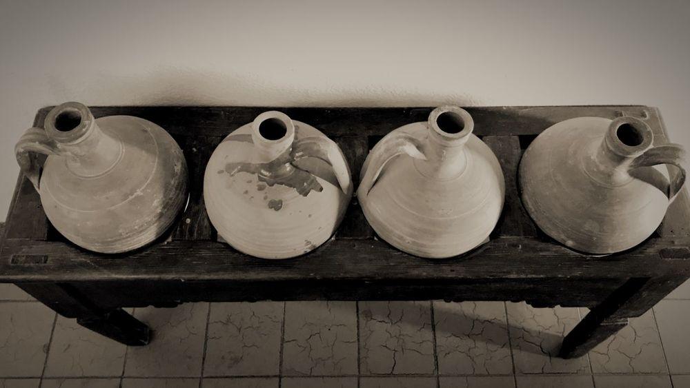 Indoors  Memories Antique Old Cantareras Amphoras Pots EyeEmNewHere