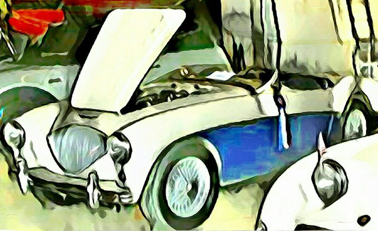 1953 Austin-Healy 100-4 fully restored enhanced Indoors  No People Close-up Day Austin Healey English Car British Car Artistic Photo Artistic Photography Arts Culture And Entertainment Classic Car Classic Car Show Retro Styled Car Artistic Eye Indoors  Painntapp