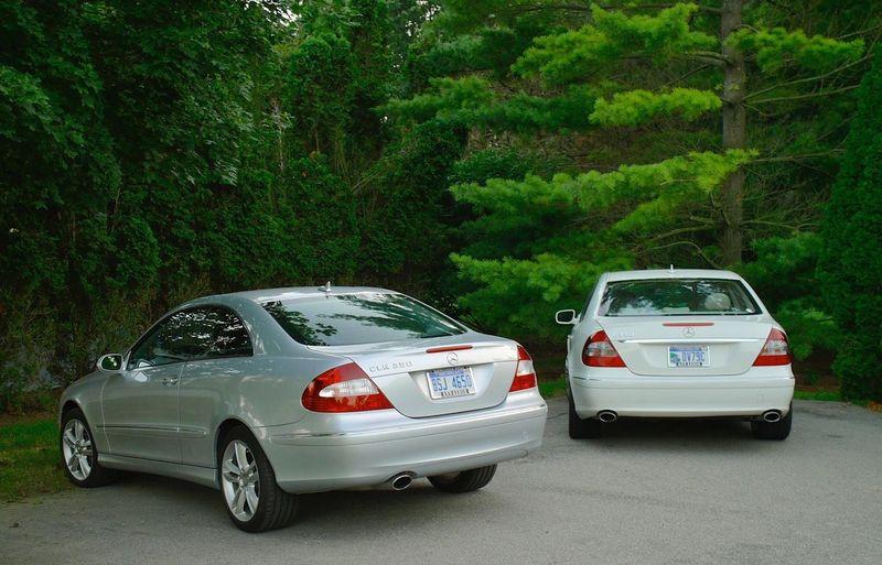 Mercedes-Benz CLK 350 E 350 Wealthy Pure Class Luxury Car Luxurylifestyle  Side By Side Driveway
