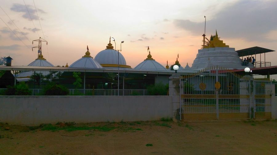Temple Tamilnadu Tamil Nadu India Wanderlust Twilight Fresh On Eyeem  Architecture Sunset Hinduism Dome
