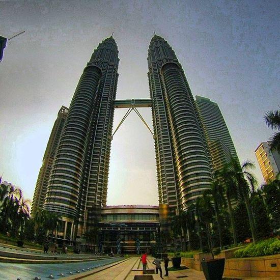 Torres Petronas Twintowers Kualalumpur Malasia gopro hero3