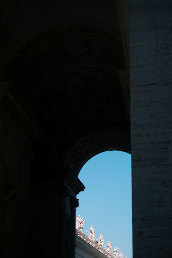 Rome Vatican Ancient Civilization Arch Architectural Column Architecture Building Building Exterior Built Structure City Day History Italy Low Angle View Monument Nature No People Outdoors Sky The Past Tourism Travel Travel Destinations