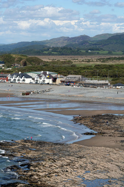 Borth, Wales Borth Coastline Country Rural Wales Beach Blue Borth, Wales Cloud - Sky Coast Cobbles Countryside Day Distance Land Landscape Mountain Nature Outdoors Sand Scenics - Nature Sea Sky Water Waves