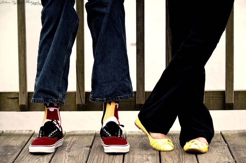 Maryland Maryland Pride Shoes Feet Red Yellow Black