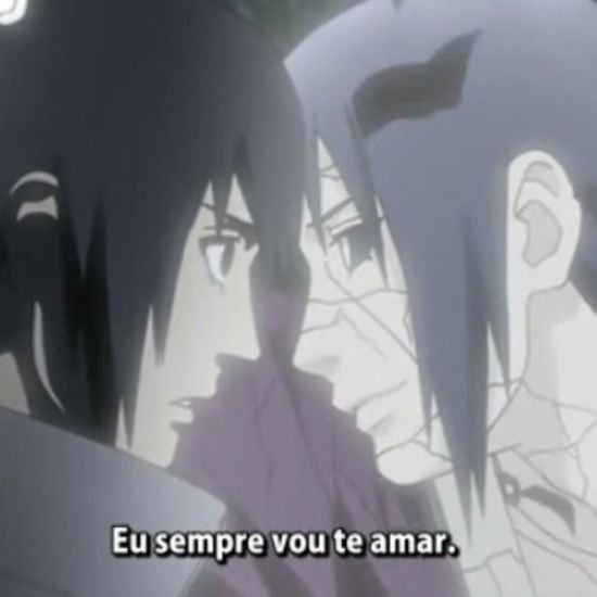 Maldito suor nos olhos :( Naruto Itachi Sasuke Instanime emocionante cute foda