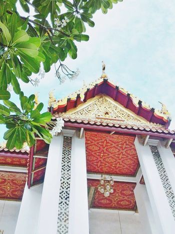 Architecture Built Structure Religion Sky Buddhist Temple Buddhist Temple In Thailand Buddhist Architecture Monastery