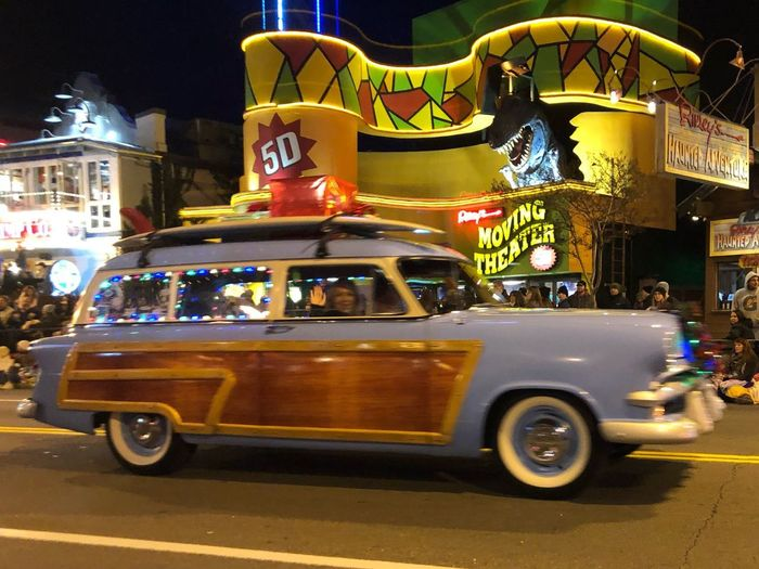 Griswald Family Vacation Christmas Griswald Vacation Gatlinburg TN 2018 Griswaldfamilychristmas Parade Fantasy Lights Gatlinburg TN 2018 2018 Gatlinburg TN Christmas Parade Mode Of Transportation City Night Architecture Illuminated Street Outdoors Blurred Motion Motion Car Motor Vehicle