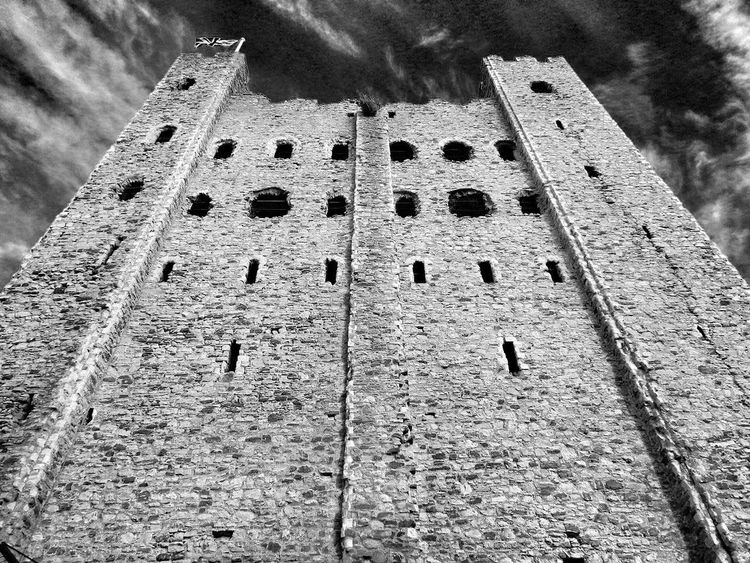 Breathing Space Day Outdoors Built Structure Low Angle View Architecture No People Sky Close-up Investing In Quality Of Life Rural Scene Live For The Story Rochester Castle Todays Hot Look. EyeEm Selects Amazing Places The Way Forward History Religion Building Exterior Architecture Full Frame Growth Scenics Cloud - Sky