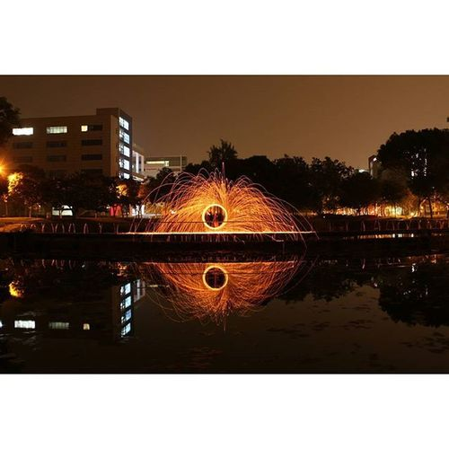 Ignition. Spin by @greenie_lina Usandtripod Ekya Reflection Steelwoolphotography Steelwoolsg Steelwool_photography Steelworks Singapurastreets Streetmediasg ExploreSingapore Canon 600D Canon600D Canon_official Canonphotography Canon_photos Ranggiphotographers Light_shots Lights Reflection Mirrorimage Lake Nightphotography Nightshoot Nightshooters nightcrawlers 3layersphotography gf_singapore global_family urbanandstreets singaporeinsiders