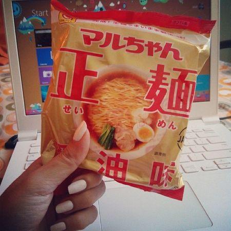 My favorite Ramen instant noodles! Maruchan  Yum