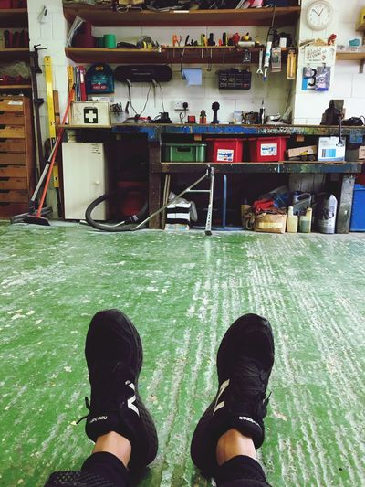 Another day in the workshop Shoe Real People One Man Only