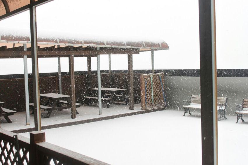 Heavy Snowy Day