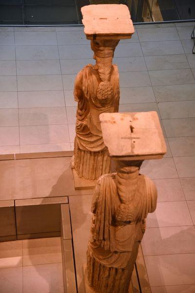 Acropolis Museum Acropolis View Acropolis, Athens Ancient Building Ancient Civilization Architecture Athens City Day Indoors  Statues And Monuments