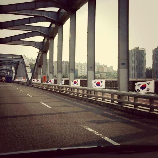 광복절... South Korea Independenceday 태극기 Ontheroad