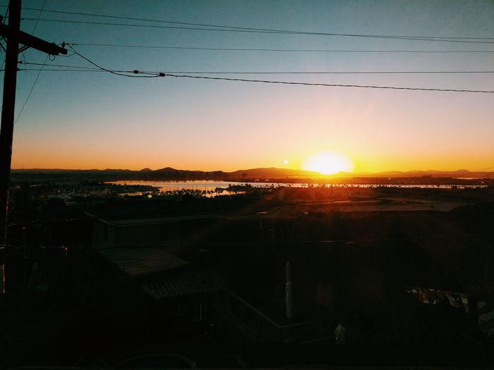 Sunset Sky Sun Sunlight Outdoors No People Cloud - Sky Nature City Day