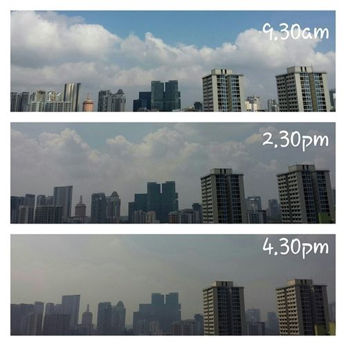 Hope you had your fill of fresh air this morning. Sghaze2014