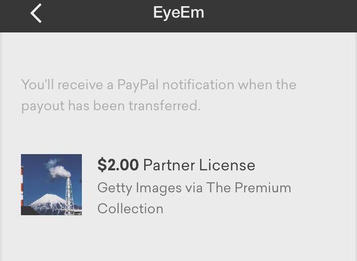 世界で90番目位に高い山の写真が売れた〜!¢25じゃないから、うれしい😆😂😊セブンイレブンのコーヒー☕️なら2杯は飲めるし!直ぐにPayPalにペイアウト出来るしEyeEmに感謝‼️ Thank You Getty Images Thank You Eyeem