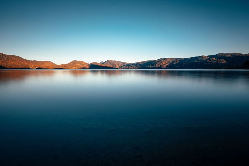 simplicity Germany Roamers Desires Wanderlust Travel Alps Wallgau Walchensee Bavarian Alps Bavaria Mountain Scenics Tranquil Scene Beauty In Nature Tranquility Lake Nature Water Idyllic Clear Sky Outdoors Travel Destinations Landscape Mountain Range No People Waterfront