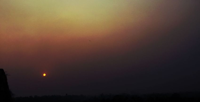 Sunset Nature Beauty In Nature Scenics Sky Tranquil Scene No People Tranquility Night Outdoors Silhouette Landscape Astronomy