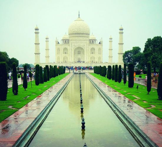 "One Of The 7 Wonders Of The World. The Monument Of LOVE Of . Tajmahal"" Architecture Wondersoftheworld Tajmahal India Eyeem Collection"