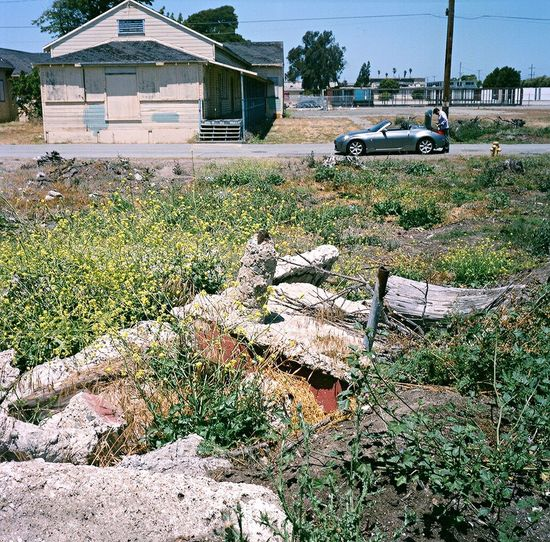 Abandoned Film Car Treasure Island Koduckgirl Lubitel 166+ Convertible