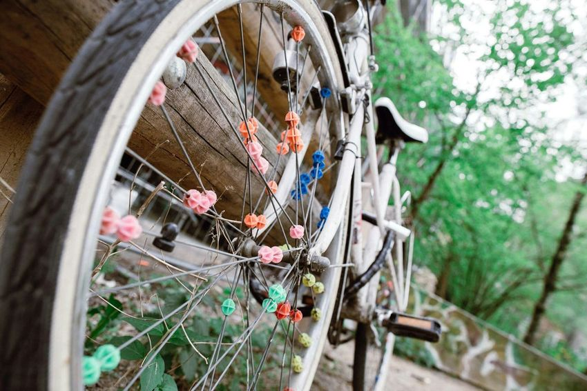 Great spoke design on a bike Berliner Ansichten Berlinstagram Bike Spoke Design Streetphotography Street Streetart