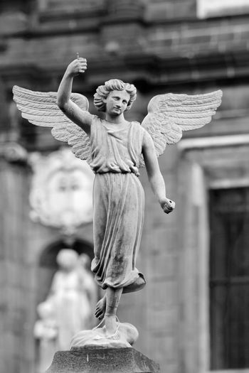 Adult Angel Archival Day Outdoors People Sculpture Statue Symbol