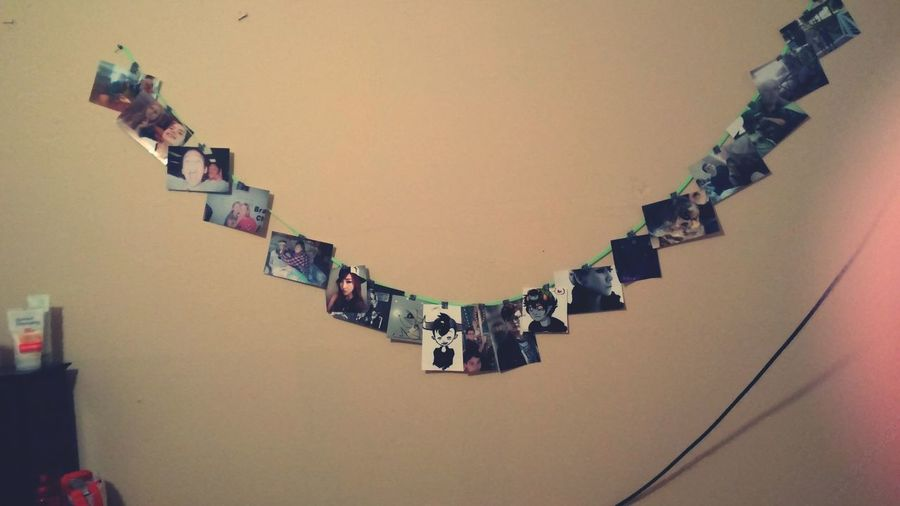 I fixed up my wall with pictures. Pictures Hanging Photos My Room