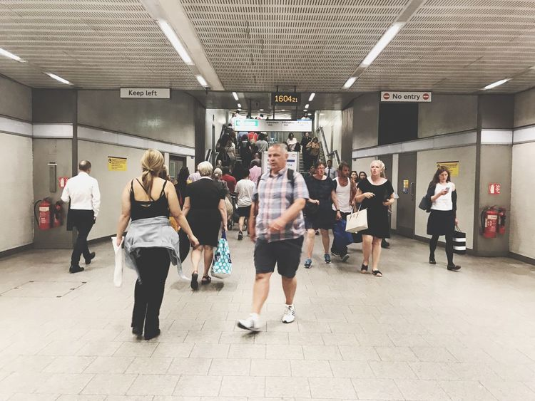 Underground London Text Men Indoors  Full Length Communication Large Group Of People Standing Women Subway Station Businessman Business Adult Day People Adults Only Busy Peak District  EyeEm LOST IN London
