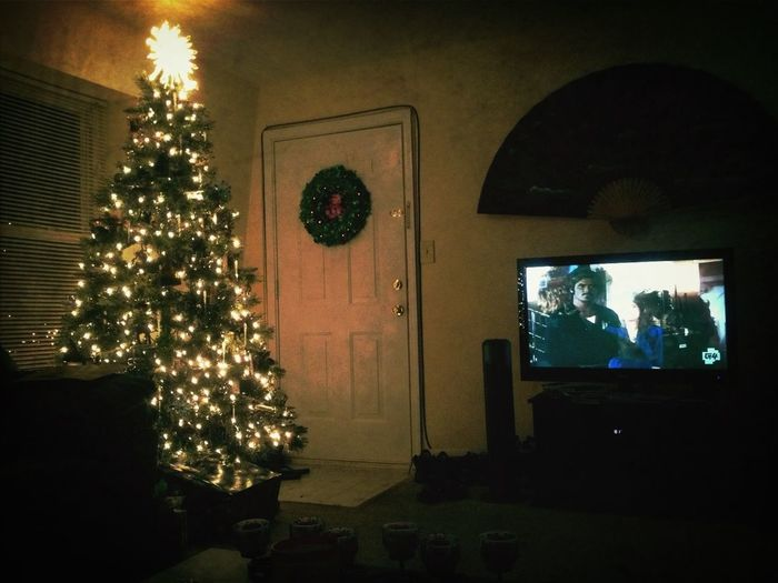 Christmas tree and Knight Rider