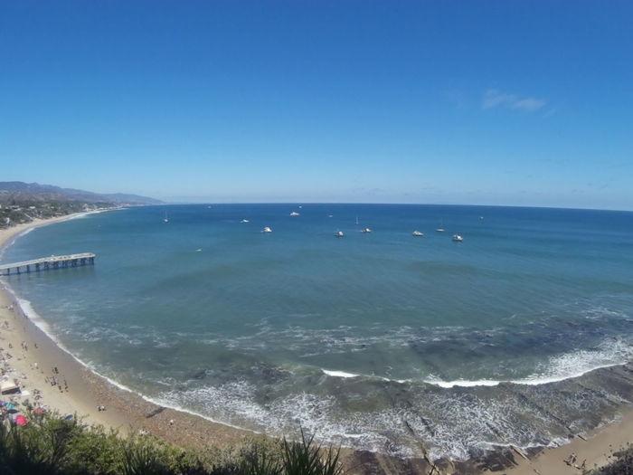 Beach Horizon Over Water Ocean Private Scenics Sea Shore Tranquil Scene Water Wave