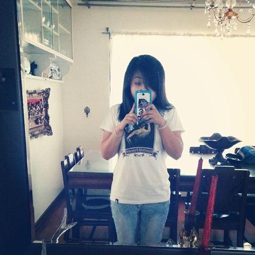 Selfie sa dining area. Taong bahay taong selfie. Lol. Off to the dentist! :) ♡♥ GustoKongPumayat