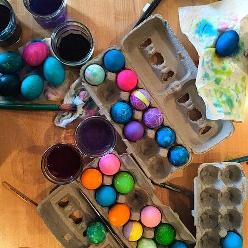 Easter eggs Easter Eggs Easter Egg Dying