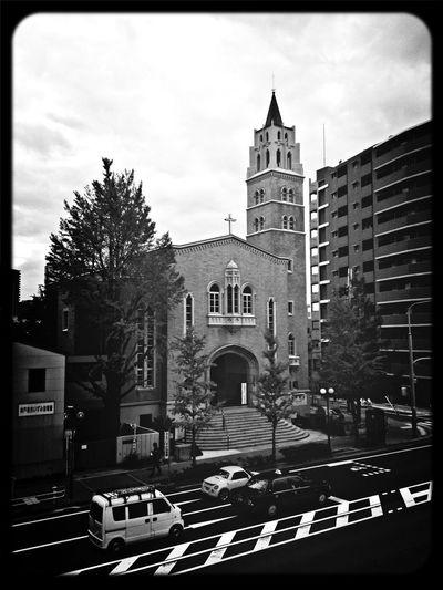 Blackandwhite Taking Photos Architecture Church