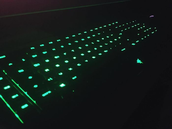 Chroma Colors Game Time! Gaming Green Color Keyboard PC Razer Black Widow Razergaming Technology First Eyeem Photo