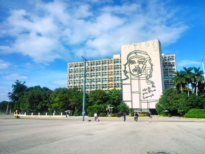 Cuba Che Guevara Street Havana Sky Urban Architecture Exotic