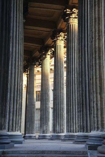 Architecture Architectural Column Travel Destinations Travel History классика СПб Питер колоннада