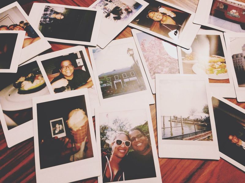 Polaroid Couple Love Cute